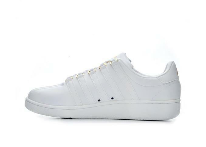 K-SWISS 03343-954 CLASSIC Leder VN Mn's (M) Weiß/Gold Leder CLASSIC Lifestyle Schuhes a9c733