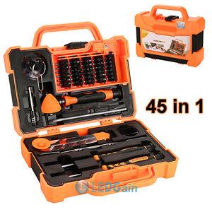 7266002d798ed5 45 In 1 Screwdriver Pry Repair Opening Tools Box Set Kit For Pad ...