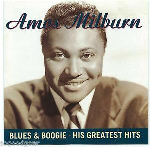 AMOS-MILBURN-CD-BLUES-amp-BOOGIE-HIS-GREATEST-HITS