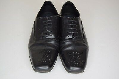 Clothing, Shoes & Accessories Marks & Spencer Genuine Leather Black Lace Up Shoes Smart Work Brogue Style 5.5 Good Taste Women's Shoes