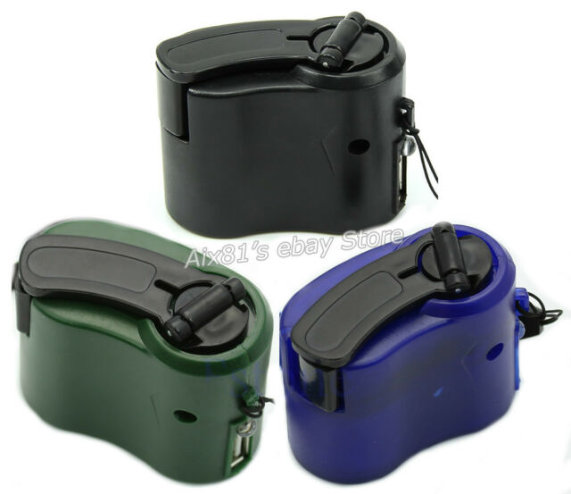 Mini Hand Crank Hand-operated Generator Dynamo USB Cell Phone MP3 Mobile Charger