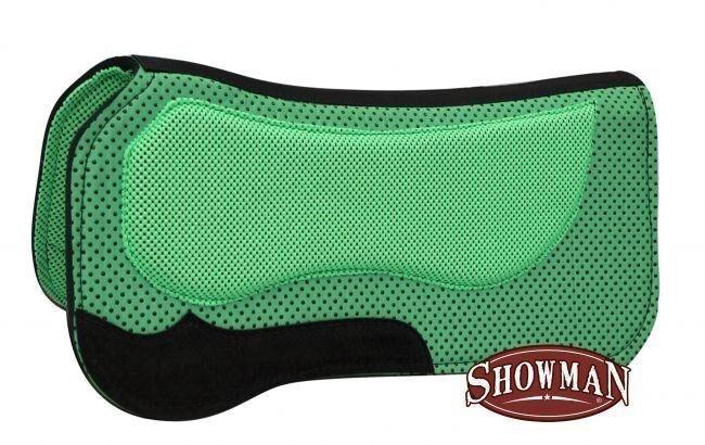 mostrareuomo LIME verde 30x31 Waffle Saddle Pad w Non Slip Poly Grip   cavallo TACK