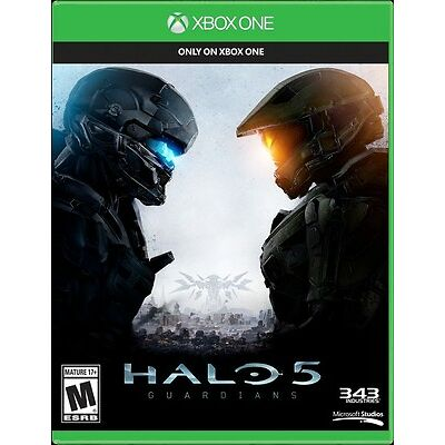 New Microsoft Xbox One Halo 5: Guardians Blu-Ray DVD Physical Game Disc (SEALED)