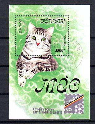 Viet Nam Blockausgabe 1990 Block Nr.- 77 Gestempelt