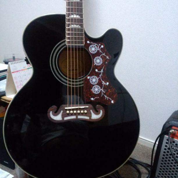 Epiphone ej 200sce beautiful Japan vintage popular acoustic guitar EMS F   S
