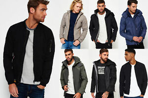 New Mens Superdry Jackets Selection - Various Styles & Colours 1912 4