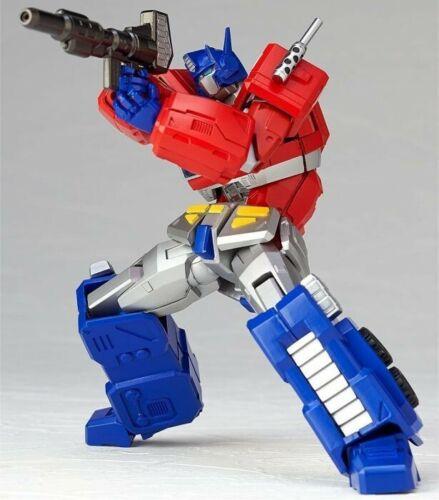 014 Optimus Prime No Kaiyodo Revoltech Amazing Yamaguchi Convoy