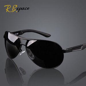 cde692f0b6 Image is loading HD-Fashion-Men-Polarized-Sunglasses-Outdoor-Sports-Eyewear-