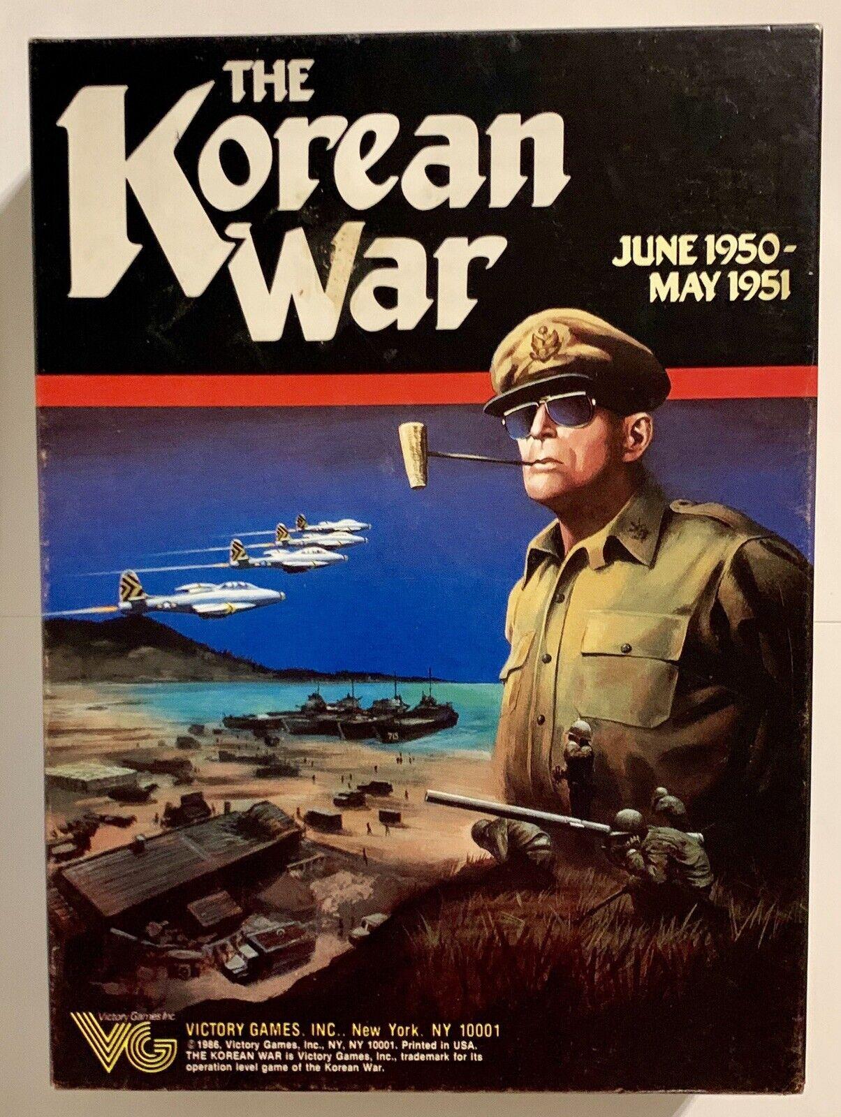 Victory Wargioco Korean War, The scatola  VG+  outlet online