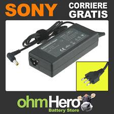 Carica Batteria Alimentatore Sony Vaio PCG-700, PCG-705, PCG-707, PCG-717,