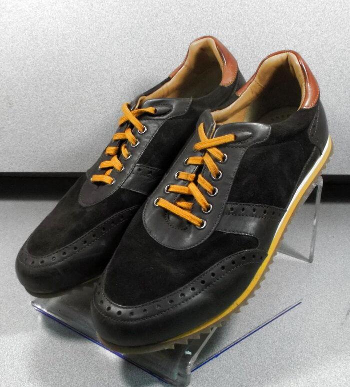 271150 ES38 Chaussures Hommes Taille 8.5 M marron en cuir 1850 Series Johnston & Murphy