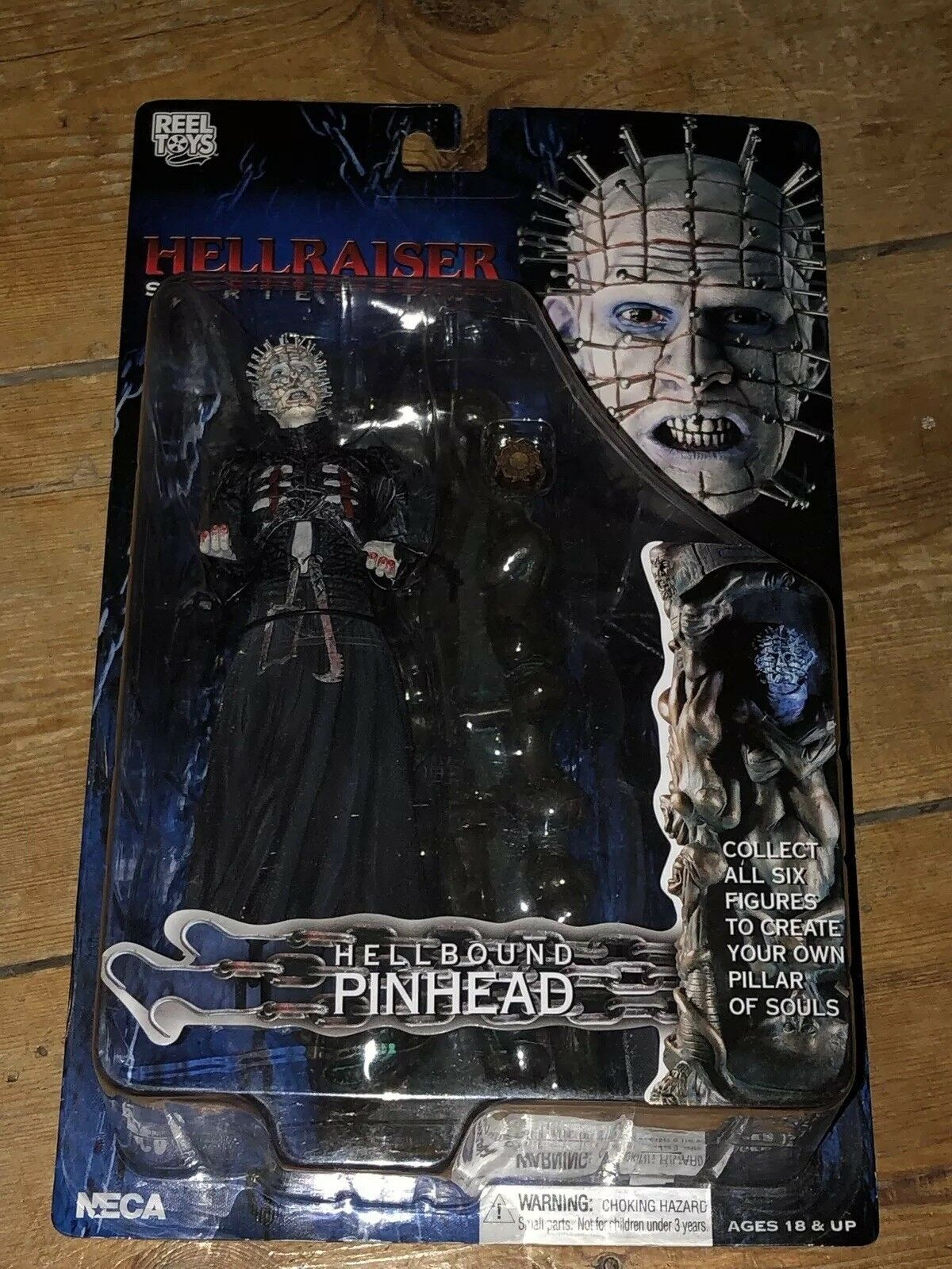 NECA Hellraiser Series 2 Hellbound Pinhead AFHRS2 9