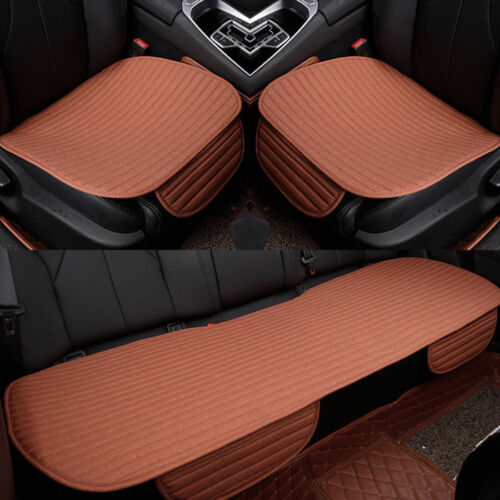 3D PU Leather Universal Car Seat Cover Pad Mat for Auto Chair Cushion Breathable