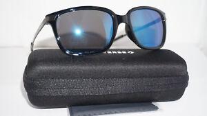 Converse-lunettes-de-soleil-Authentique-Noir-PZ-Miroir-Bleu-H-036-blapz-57-18-135
