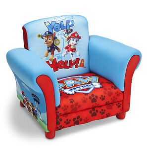 Image Is Loading NEW DELTA CHILDREN PAW PATROL CHILDS UPHOLSTERED CHAIR
