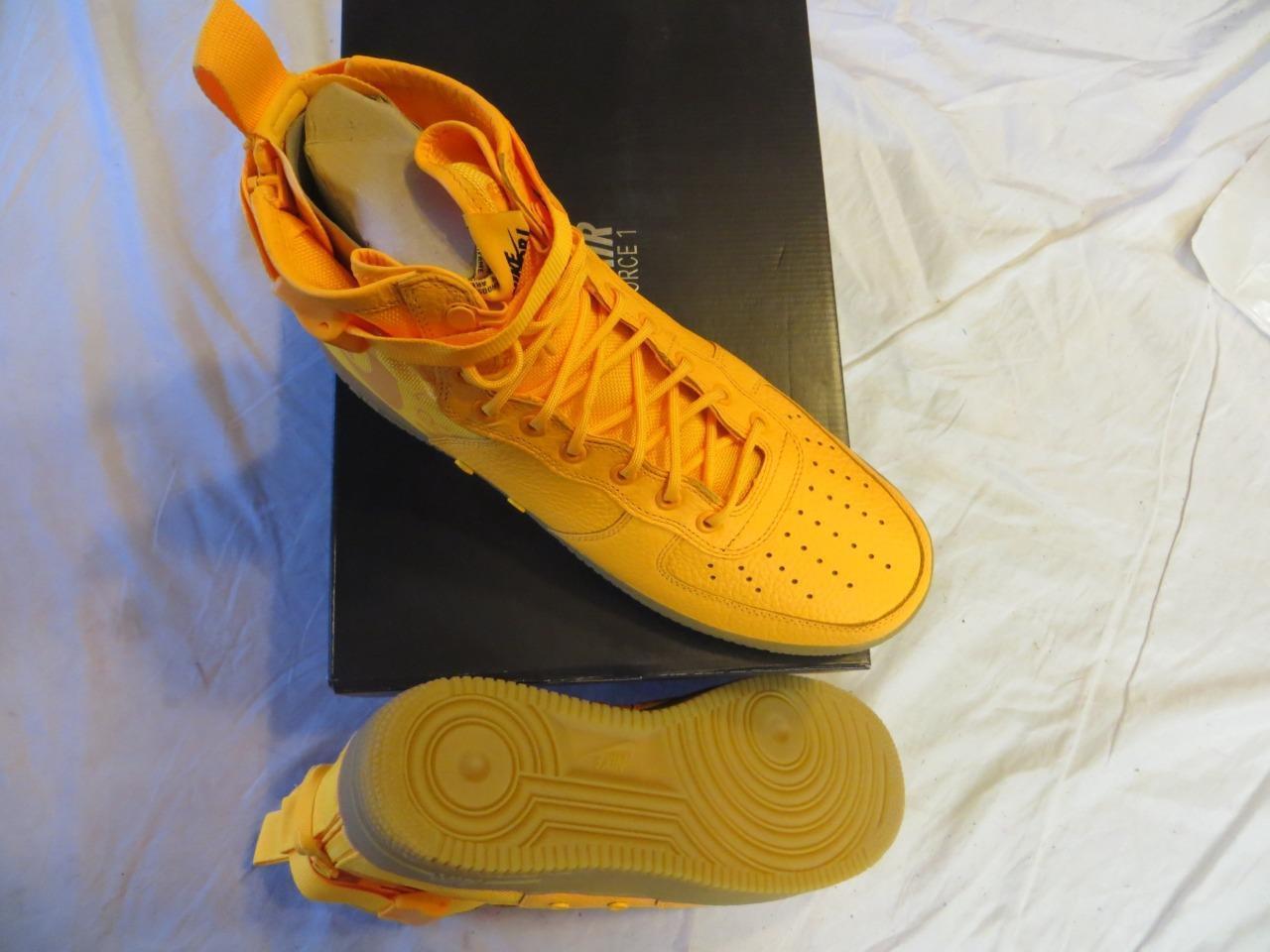Nike uomini sf af1 mid (objr) sz laser arancione (917753 801) ret pennino