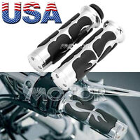 2x 1 Motorcycle Hand Grips Handlebar For Suzuki Intruder Volusia Vs 1400 800