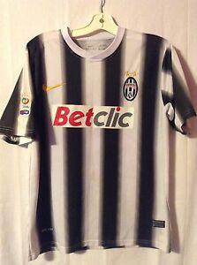 a759f35cc93 Juventus Black White Stripe Nike Soccer Jersey Kit Betclic Medium ...
