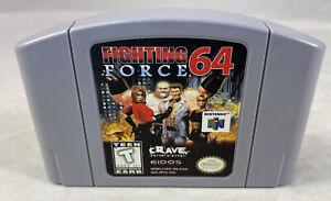 Fuerza de lucha 64 (Nintendo 64, 1999) N64 auténtico Cartucho sólo probado