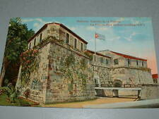 Early 1900's HABANA HAVANA Cuba Postcard, La Fuerza Fort (oldest building, 1540)