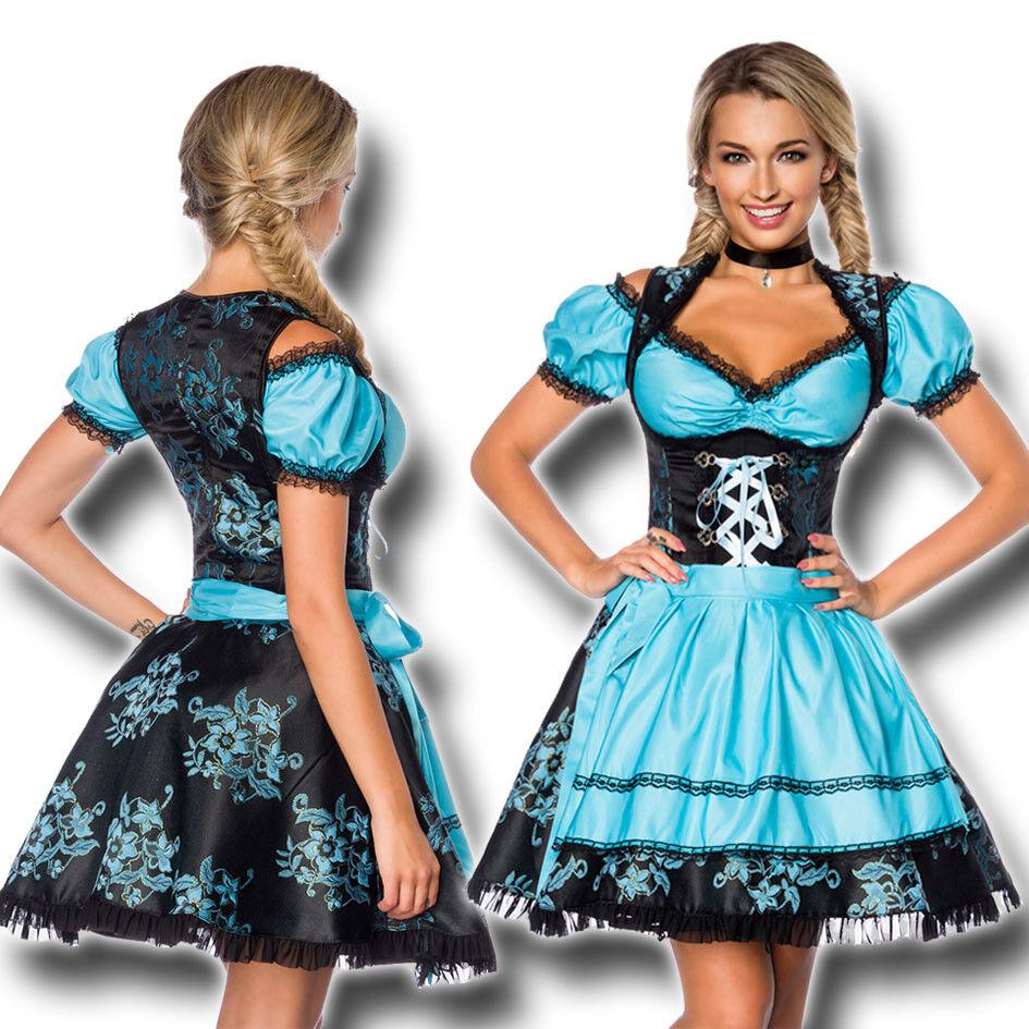 70000 Noble Jacquard du & chemisier 3-tlg xs-3xl Oktoberfest Costumes robe T