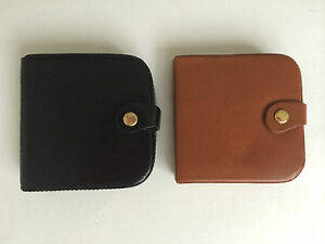 Golunski Mens Gents Leather Coin Wallet Tray Purse Wallet Change Pouch Round