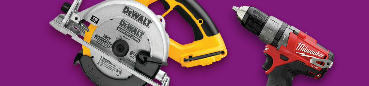 Up to 60% Off Reconditioned Tools