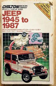 1945 1946 1986 1987 jeep wrangler scrambler cj2 cj3 cj5 cj6 cj7 rh ebay com Jeep CJ1 jeep cj3b service manual