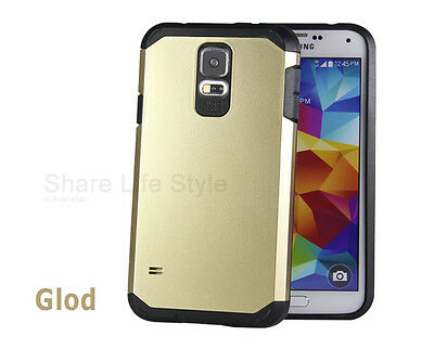 Armor Heavy Duty Plain Case Cover for Samsung Galaxy S5
