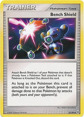 2X Bench Shield 83//99 Platinum Arceus PERFECT MINT Pokemon