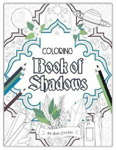 Details About Coloring Book Of Shadows Color Crystals And Natural Elements Adult Coloring Book
