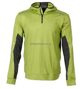 Falke Camisa Capucha BR Sn44 para Hombre  Chaquetas verde Lima con detalle reflectanteXL21  barato