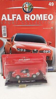 1/43 Alfa Romeo - 33.2 Fleron Fabbri Editore Portare Più Convenienza Per Le Persone Nella Loro Vita Quotidiana
