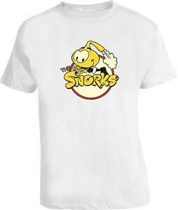 fd8b4c39 Image is loading The-Snorks-80S-Retro-Cartoon-Classic-NEW-White-