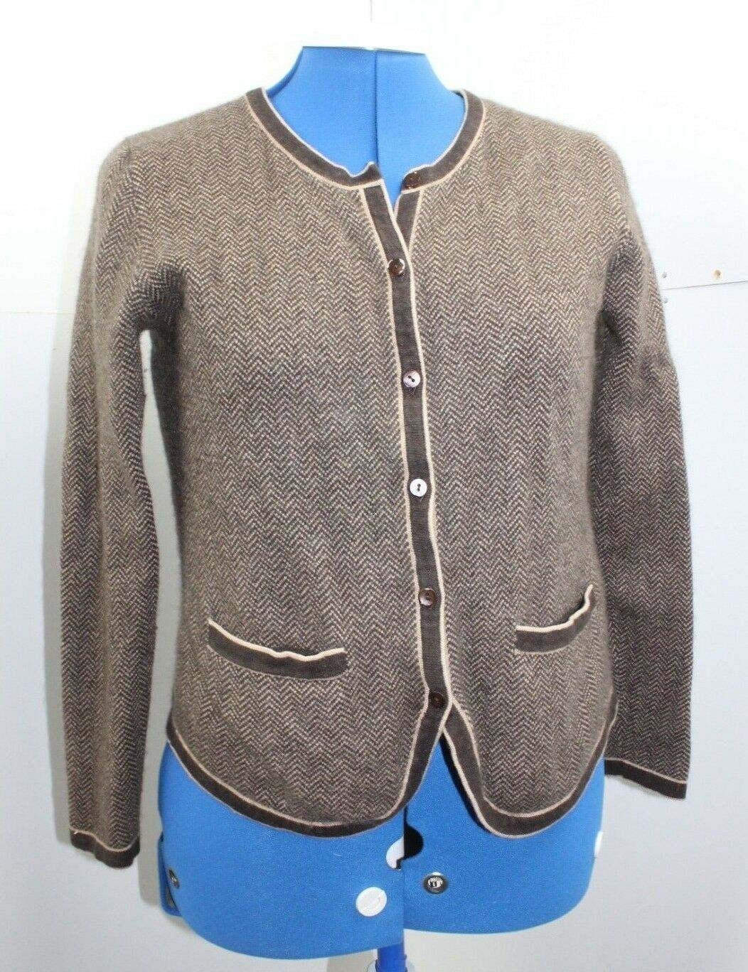 autodigan blend Silk Cashmere Charles Autooline Knit Tweed