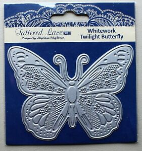 ** Le Moins Cher Prix ** - Tattered Lace Whitework Twilight Papillon Tld0092-afficher Le Titre D'origine