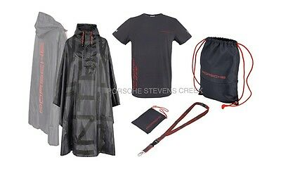 Backpack . Lanyard Porsche Le Mans Fan Package T shirt Poncho