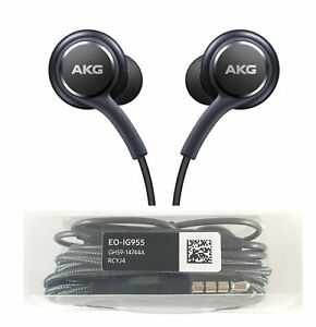 replacement in ear earphones for samsung galaxy s8 s9 s7 note 8 akg headphones ebay. Black Bedroom Furniture Sets. Home Design Ideas