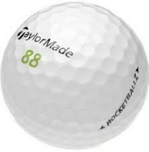 36 Taylormade Rocket Ballz Near Mint Used Golf Balls AAAA - Free Shipping