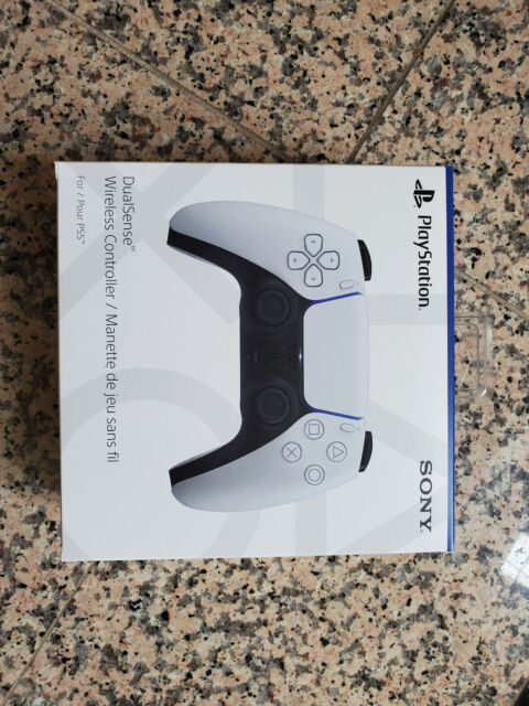 NEW SONY PS5 DUALSENSE 5 PLAYSTATION 5 WIRELESS CONTROLLER, WHITE, FAST SHIPPING