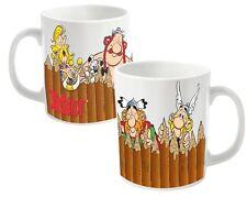ASTERIX - FENCE - Keramik Tasse / Coffee Mug