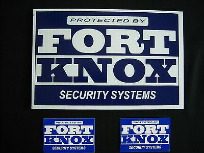 1 Window Decal #PS-419 Video Surveillance Sign..