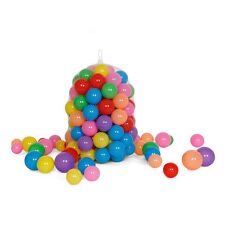 Multi-Color Cute Kids Baby Soft Play Balls Toy for Ball Pit Swim Pit Pool 100pcs