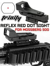 Red Dot Sight Kit Mossberg 500 Shotgun Tactical Weaver Rail Mount.