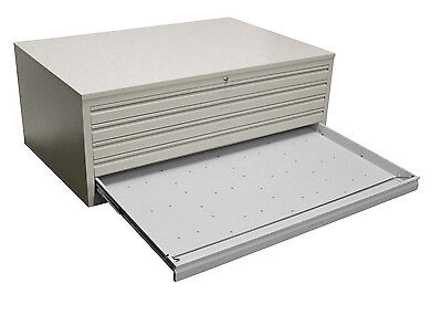 Einfach Zeichnungsschrank Din-ao 5 Schübe Grafikschrank Papierschrank Ral 7035 Grau HeißEr Verkauf 50-70% Rabatt