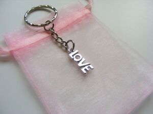 Word-Love-Keyring-Valentines-Birthday-Christmas-Present-With-Gift-Bag