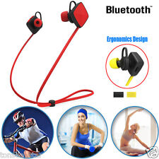 Bluetooth Wireless Handfree Headset Stereo Kopfhörer Earphone Sport Universal