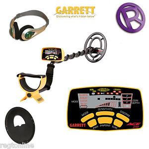 garrett ace 250 metal detector with coil cover headphones 744110463378 ebay. Black Bedroom Furniture Sets. Home Design Ideas
