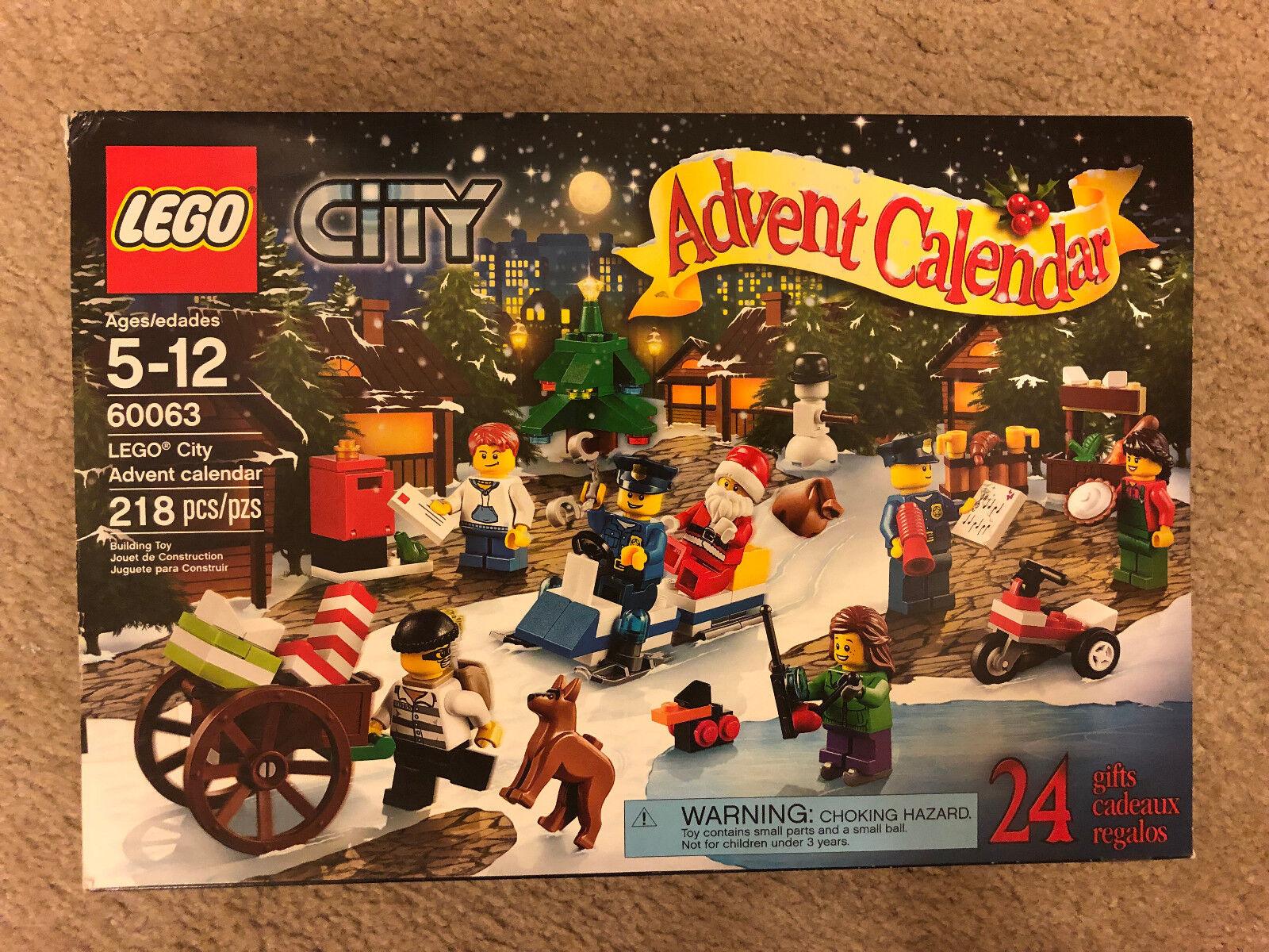 LEGO City 60063 Advent Calendar 2014 Christmas Retirot
