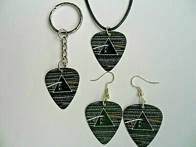PINK FLOYD  The Wall  Guitar Pick Necklace Keyring Badge Earrings